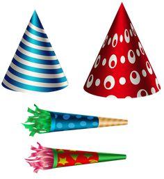 Birthday Party Set Transparent PNG Clip Art Image