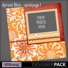 Apricot Bliss Quickpage 1