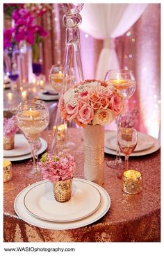 These are gorgeous ideas for table settings!  Get your four complimentary tickets to one of our Luxury Bridal Events at www.bridalexpotickets.com