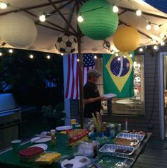 World Cup Party Decorations Nesting With Style | Adding Joie de vivre to every day