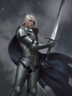 a collection of inspiration for settings, npcs, and pcs for my sci-fi and fantasy rpg games. hopefully you can find a little inspiration here, too. Fantasy Female Warrior, Female Armor, Female Knight, Fantasy Rpg, Medieval Fantasy, Dark Fantasy, Lady Knight, Fantasy Heroes, Knight Armor