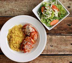 Weight Watchers Chicken Parmesan Recipe from #SimpleStart