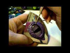 Polymer Clay Dragon's Eye tutorial - YouTube