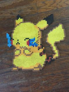 A personal favorite from my Etsy shop https://www.etsy.com/listing/466614168/pikachu-perler-medium