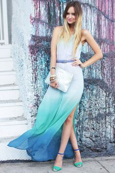 Feeling Shady? Check out These Ombre Street Style Outfits ...