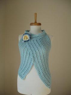 Spring 2012 Two in One Asymmetric Vest By Crochetlab by crochetlab, $56.00