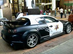 Pinned by http://FlanaganMotors.com. MAZDA RX-8 police car