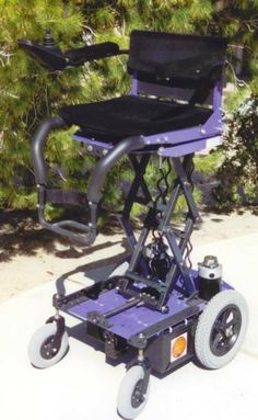 New Heights Elevating Wheelchairs Power Chair Brochure
