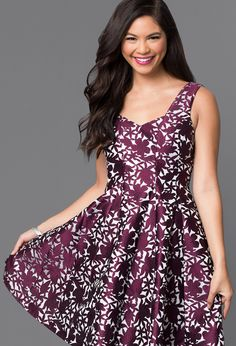 Affordable Christmas Dresses (If you don't live where I do) - Dark Floral