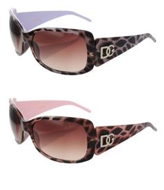 2 DG Eyewear 1 Pink  1 Purple Animal Print Sunglasses  2 Free Micro Fiber Bag >>> Be sure to check out this awesome product.Note:It is affiliate link to Amazon.