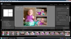 How to make a storyboard in Lightroom.