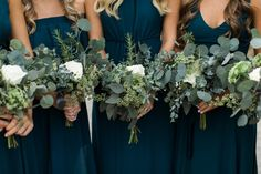 Enchanted Florist | Classic Green and White Lush | Real Wedding at Graystone Quarry - Alyssa Joy Photography | white wedding flowers | Nashville wedding