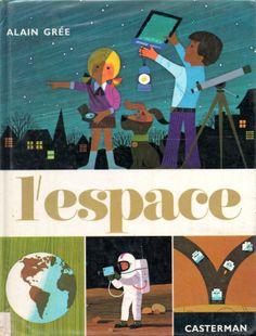"""""""l'espace"""" alain grée 1972"""