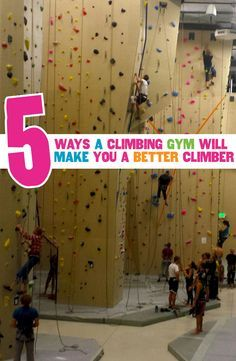 Want to become a better outdoor climber? Hit the climbing gym! Great post about how indoor climbing can improve your outdoor skills by @lgsmash -- http://hub.sierratradingpost.com/climbing-gym-teamsierra/