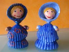 coquillages poupées