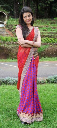 Kajal Agarwal Latest Saree Photos