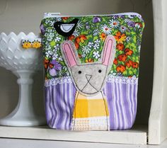 Rabbit purse Easter Gift