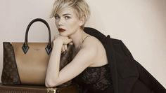 michelle williams crop | Michelle Williams Stuns In Dreamy New Louis Vuitton Campaign