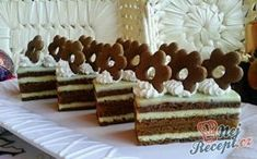 Czech Recipes, Ethnic Recipes, Christmas Baking, Gingerbread Cookies, Tiramisu, Food And Drink, Sweets, Drinks, Desserts