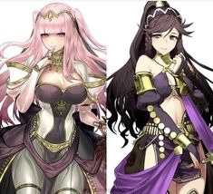 Fire Emblem Characters, Fantasy Characters, Female Characters, Anime Characters, Anime Fantasy, Fantasy Girl, Fire Emblem Olivia, Fire Emblem Awakening Tharja, One Punch Anime