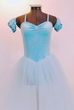 Frozen, Pale Blue, Romantic Ballet Costume, For Sale – Once More From The Top