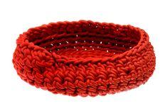 Inspiration: neoprene crochet