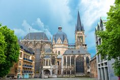 Aachen Cathedral Aachen, Germany Built around 780 as Charlemagne's Palatine Chapel, Aachen Cathedral sits in its namesake city in Western Germany.