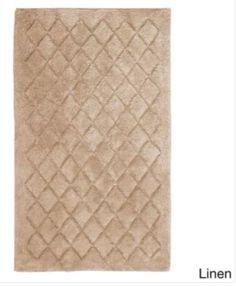 Stylish Modern Linen Cotton Bath Rug Non-Slip Latex Backing 27 x 45 Inches #BathRug #StylishRug #CottonRug #BathMat #SoftMat #DoorMat #Mat #Rug #SkidResistant #NonSlip #Home #Kitchen #Bathroom #Bath