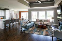 John F Kennedy C Floor Plan - Living Room - Centerra Ridge - Evansville, IN