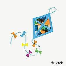 K is for Kite - with a couple of kite picture books.