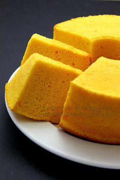 Pumpkin Chiffon Cake by Lydia's Corner, via Flickr