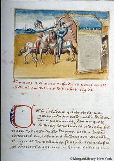 Literary, MS G.23 fol. 13v - Images from Medieval and Renaissance Manuscripts - The Morgan Library & Museum