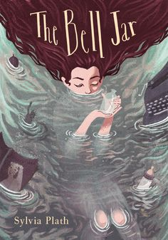 Beautiful cover for The Bell Jar by Sara Bicknell - on Behance
