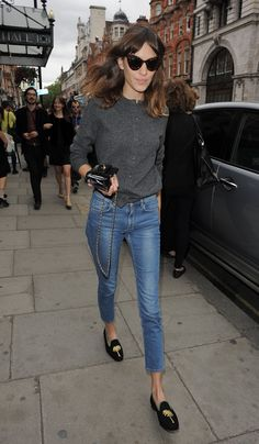 Alexa Chung Let Budget Belles help you to create the look for less!