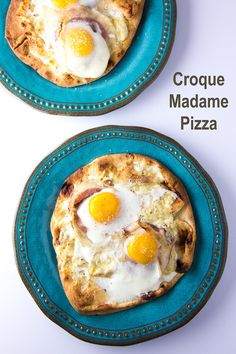 Croque Madame Pizza