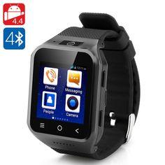 ZGPAX S8 Android 4.4 Watch Phone (Black)