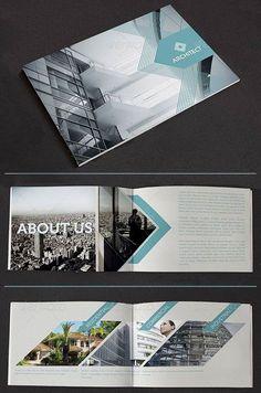 Pamphlet design.