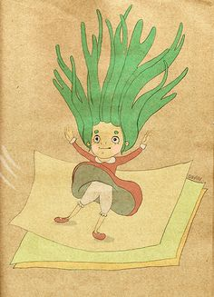 躍然於紙上 #illustration #daylilyart #插畫 #玳力力
