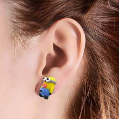 Exclusive! Despicable Me Minion Earrings