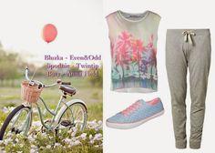 Look  Good  ABC  Urody: Modnie rowerem przez świat! Stylizacje