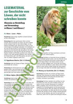 die 15 besten bilder von löwe der nicht schreiben konnte | deutsch unterricht, unterricht ideen