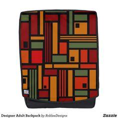 Designer Adult Backpack