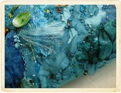 Beautiful stitching by Carolyn Saxby