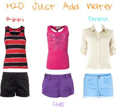 """H2O:Just Add Water Inspired"" by mermaidbrianna ❤ liked on Polyvore"