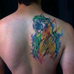 #inked #arara #tattoo #tatuagem #brasil #colors #alineymarques