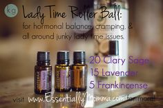 See ya later PMS & cramps, bye bye hormones and stress! Visit www.EssentiallyMomma.com for more information and to order your doTERRA oils today! (clary sage, lavender, PMS, craps, roller ball, blend, recipe, frankincense, coconut oil)