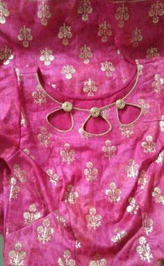 Best 12 Neck pattern for salwar suit – SkillOfKing. Churidhar Neck Designs, Churidhar Designs, Neck Designs For Suits, Neckline Designs, Sleeves Designs For Dresses, Dress Neck Designs, Fancy Blouse Designs, Kurti Back Neck Designs, Salwar Designs