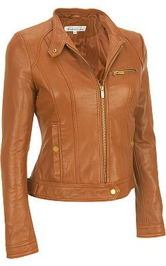 Bought This - Love This: Kenneth Cole Lamb  Zip Scuba Jacket - Wilsons Leather