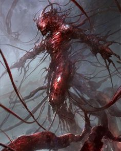 Carnage Art by The Great @DibujanteNocturno