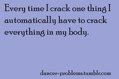 Dancer -Problems